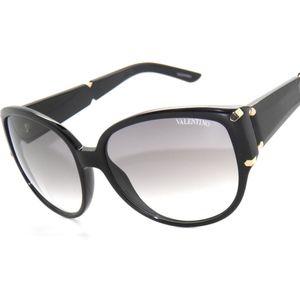 Valentino 5645 Black Sunglasses New !